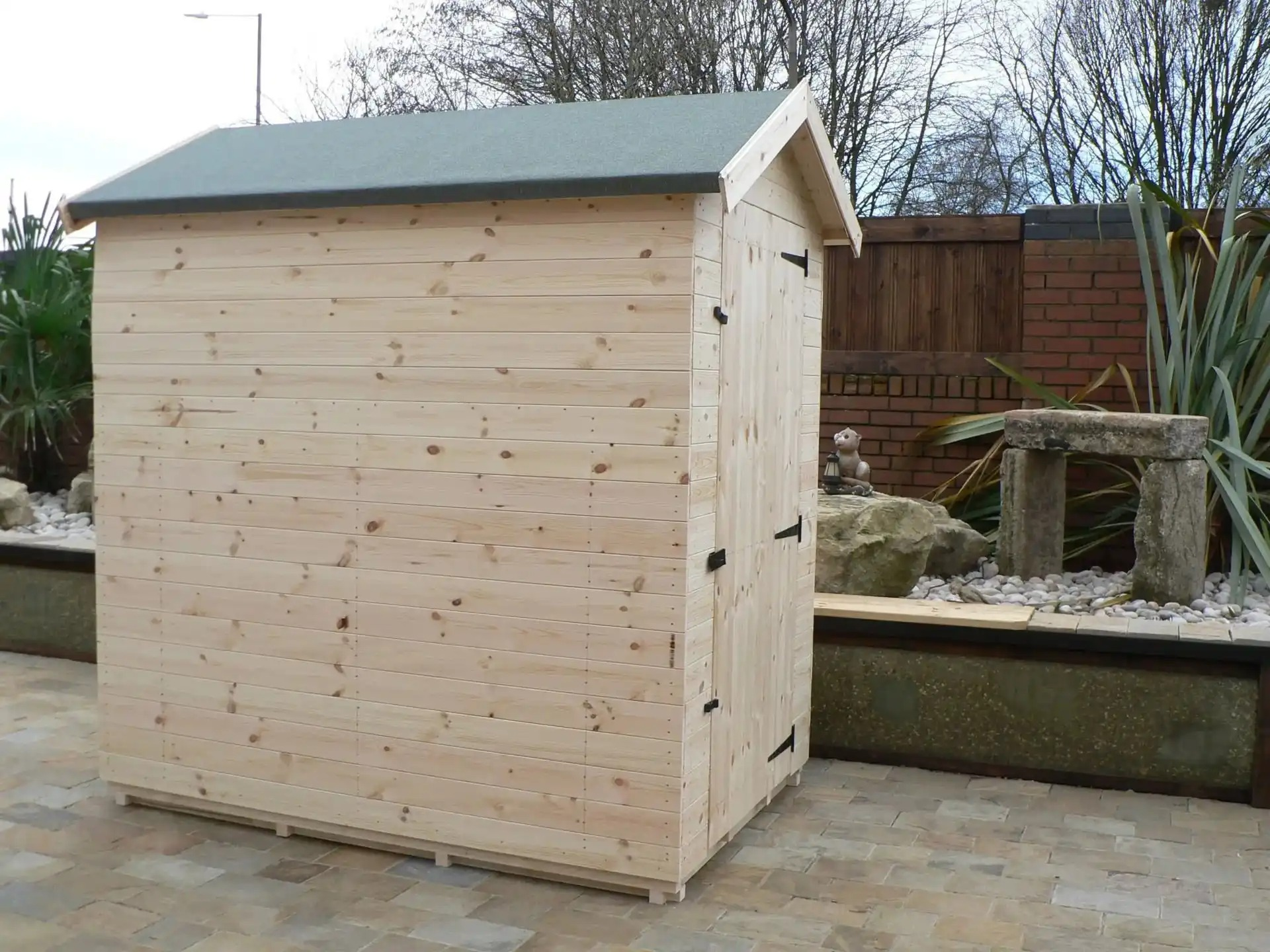 6' X 4' Apex Shed No Windows